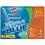 Clorox Pool&Spa Shock Xtra Blue, (24-Pounds)