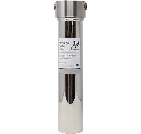 Doulton W9320007 - Filtro purificador de agua, acero inoxidable: Amazon.es: Bricolaje y herramientas