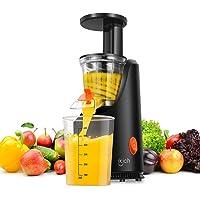 iKich 200W Masticating Juicer Machines BPA-Free Cold Press Fruit Juicer