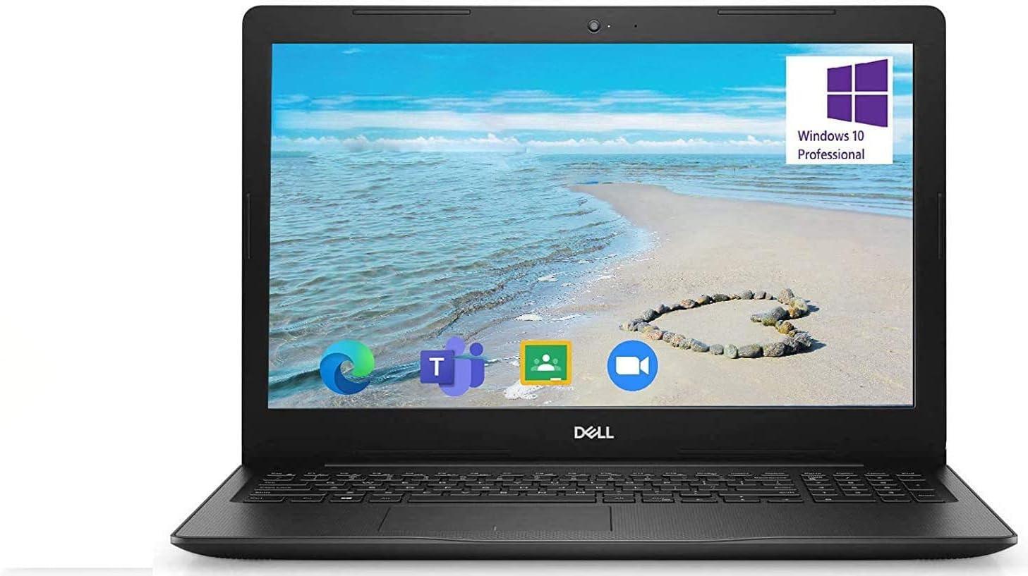 Newest Dell Inspiron 15.6 inch Laptop, 10th Gen Intel Core i5-1035G1, 16GB RAM, 512GB SSD, HDMI, WiFi, Intel UHD Graphics, Bluetooth, Online Class Windows 10 Pro