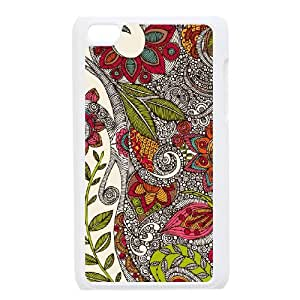 SHJFDIYCase Design New Fashion Zentangle Art High Quality Phone Case for Ipod Touch 4, Custom Cell Phone Case SHJF-504086