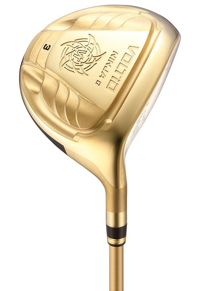 KATANA GOLF(カタナゴルフ) フェアウェイウッド VOLTIO NINJA G FW 880Hi GOLD フェアウェイウッド フジクラ製オリジナルSpeeder 461 カーボンシャフト ロフト角:18度 番手:5W フレックス:SR B06X1BBQ5H