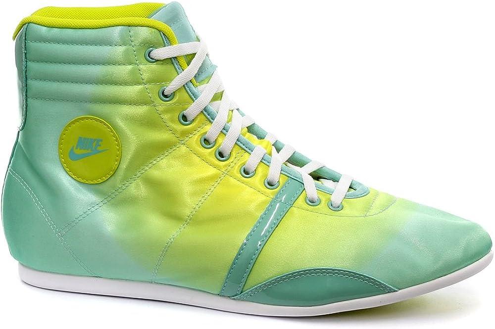 Nike Hijack Mid Green Womens Sneakers