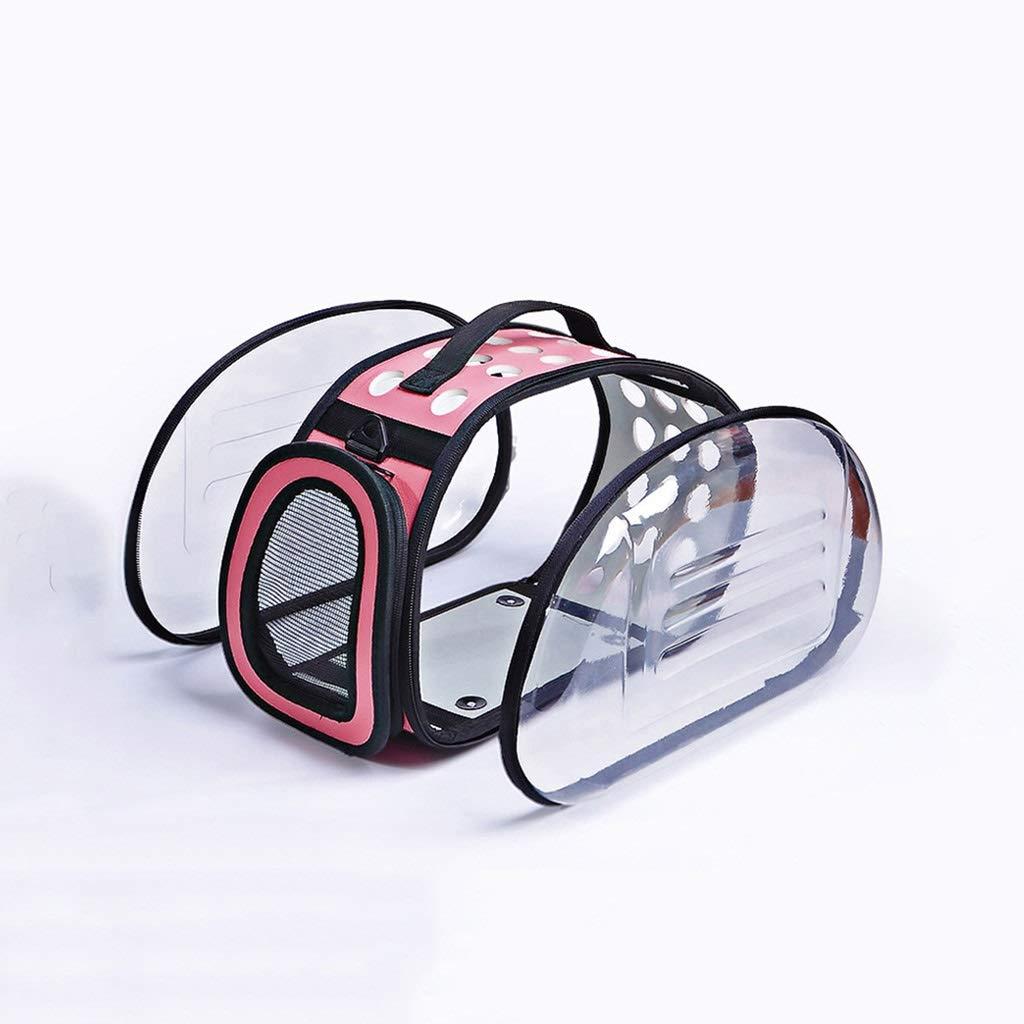 36x20x22cm BTPDIAN Cat bag  transparent bag  pet backpack  cat out carrying bag  cat cage  dog bag  pet bag (Size   36x20x22cm)