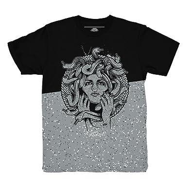 deaff5b481164e Cement 10 Medusa Split Shirt to Match Jordan 10 Light Smoke Grey Sneakers  (Small)