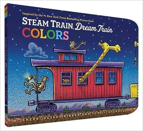 Descarga de libros electrónicos mobiSteam Train, Dream Train Colors (Literatura española) PDF ePub MOBI 1452149151