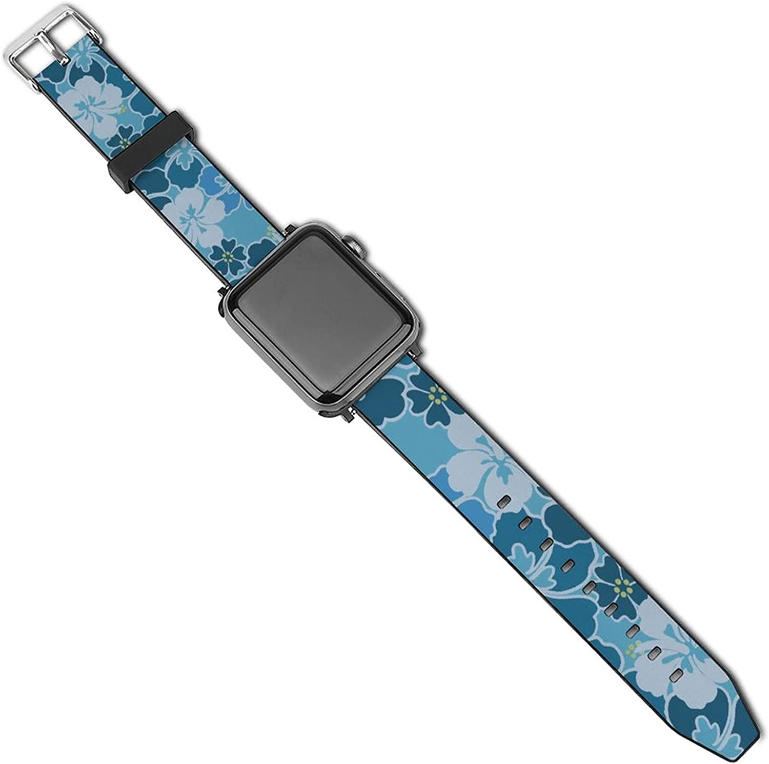 Replacement Bands Compatible with Apple Watch Bands 38mm 40mm 42mm 44mm for Women Men, Soft Bands Compatible with iWatch Series 5 4 3 2 1