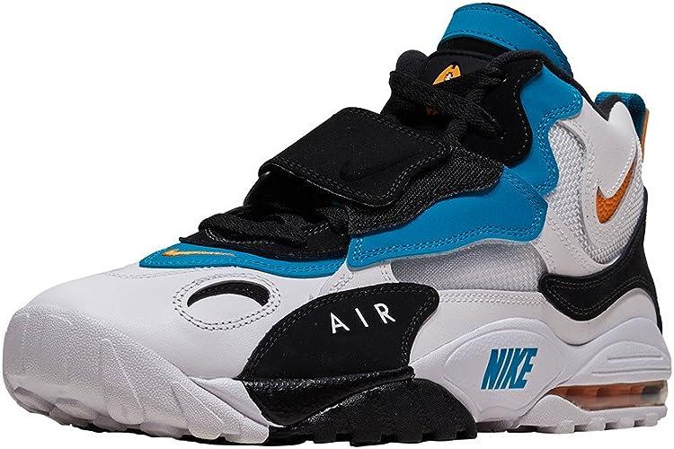 Aprendizaje estropeado Cabra  Amazon.com: Nike Air Max velocidad Turf para hombre 525225 – 100, Blanco:  Shoes