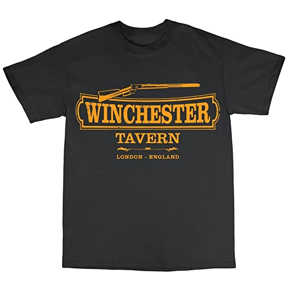 Winchester Tavern Shaun Of The Dead Inspired T Shirt Amazon Fr