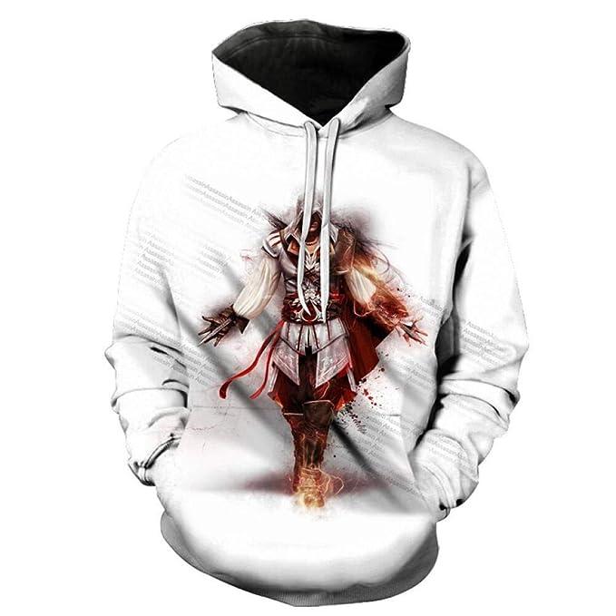 Sudaderas con Capucha, AssassinS Creed 3D Print Sudadera ...