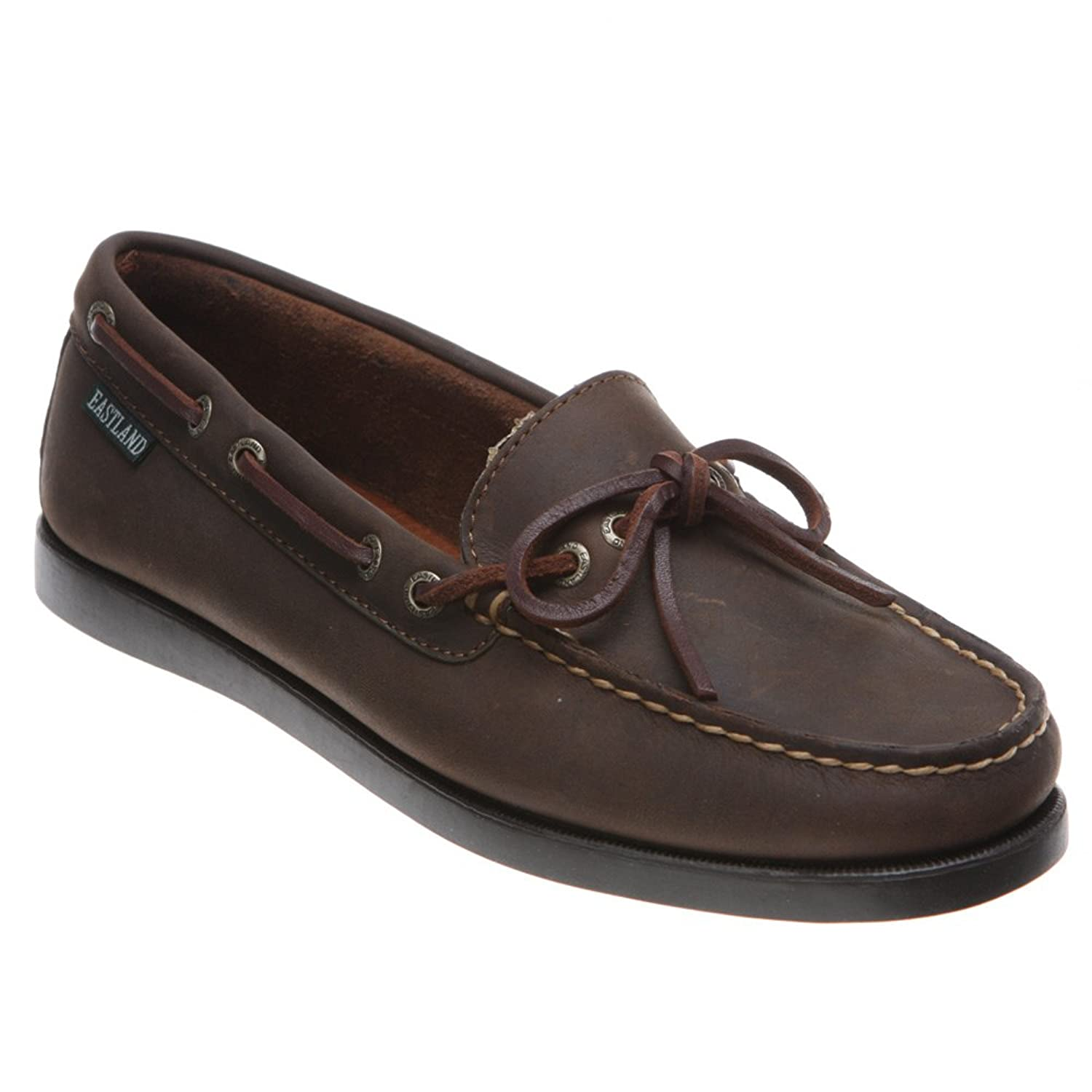 Eastland Women's Bomber Yarmouth Camp Moc Slip-Ons Brown 11 M US