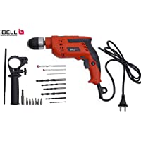 IBELL Impact Drill 13MM, 650W, 2800RPM with Auto Chuck in BMC Box and 17 Accessories