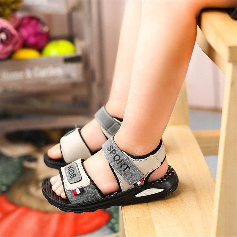 Kids Sport Sandals Closed Toe Boys Lightweight Athletic Beach Shoes Toddler//Little Kid//Big Kid