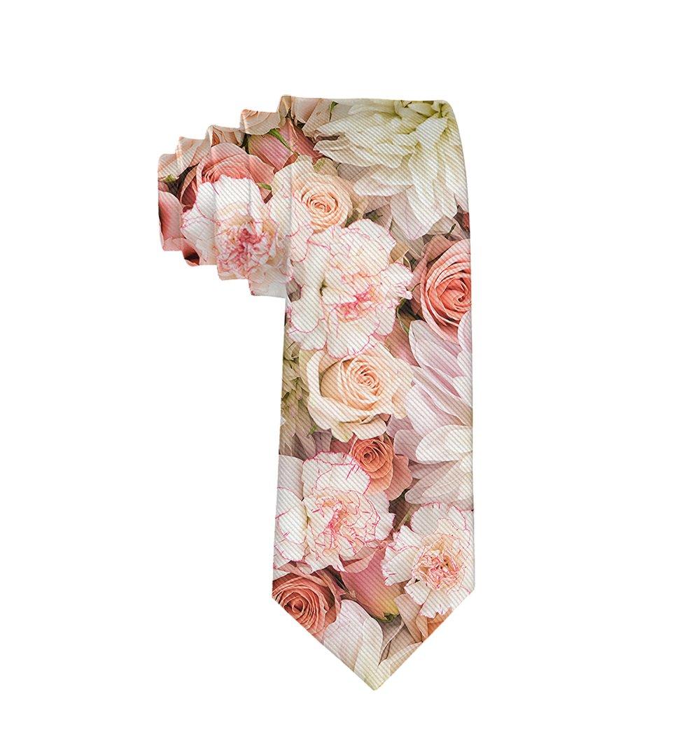 MrDecor Corbata de pétalos de Rosas, Color Rosa, Regalo para ...