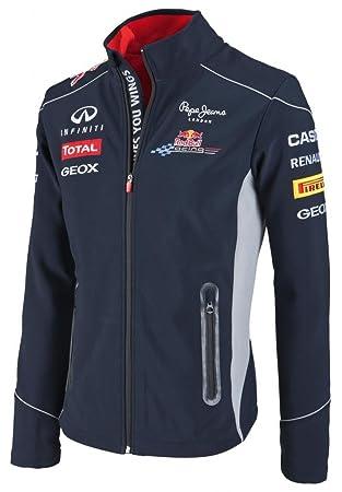Red Bull Webber & Oficial F1 Racing Team Line Chaqueta Suave ...