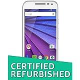 (Certified REFURBISHED) Motorola Moto G 3rd Gen XT 1550 (White, 16GB)
