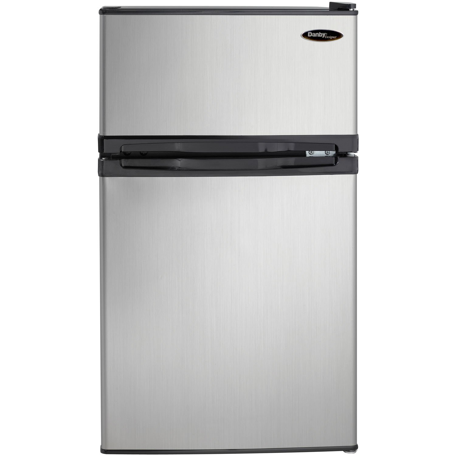 Amazon.com: Danby DCR031B1BSLDD 3.1 Cu. Ft. 2 Door Compact Refrigerator,  Steel: Appliances