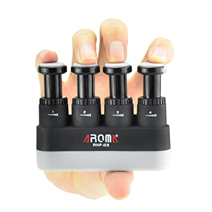 Other Musical Instrument Equip Equipment Professional Guitar Hand Finger Exerciser 4 Adjustable Tension Hand Grip Trainer