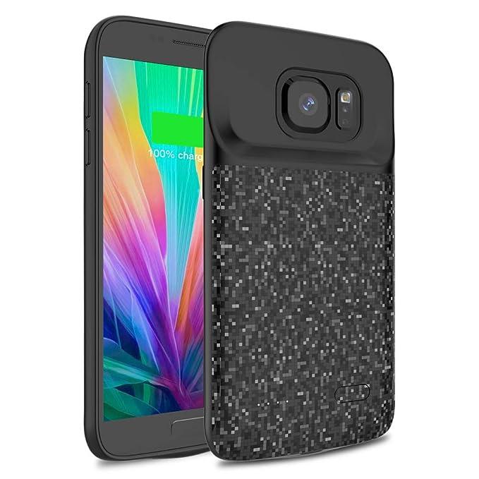Wavypo - Funda de batería para Samsung Galaxy S7, 4200 mAh ...