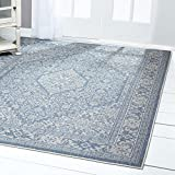 "Home Dynamix Nicole Miller Patio Country Dahlia Indoor/Outdoor Area Rug 7'9"" x10'2, Traditional"