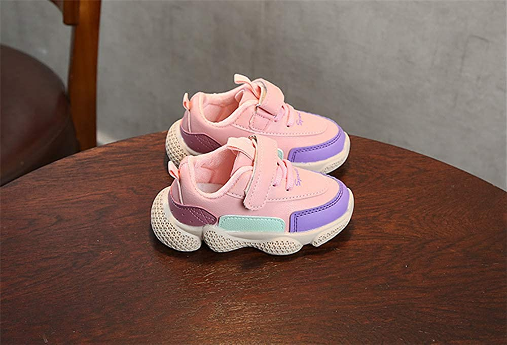 YSNJL Kids Fashion Sneakers Lightweight Breathable Walking Shoes Comfort Casual Sport Shoes for Boys Girls