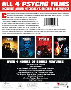 Psycho: Complete 4-Movie Collection [Blu-ray] by Universal Pictures Home Entertainment