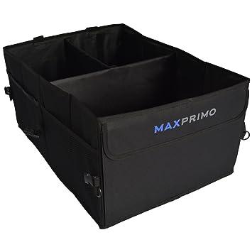 Amazon Com Car Trunk Organizer Set Foldable Caddy Box And Net