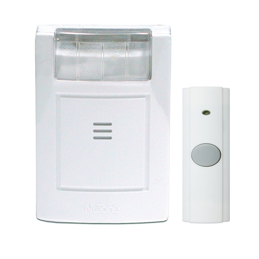 NuTone 224WH Wireless Door Strobe/Chime System