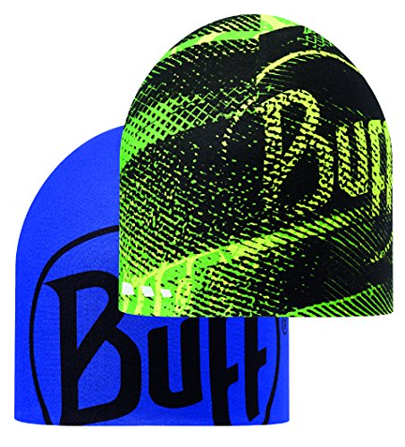 Buff Flash Logo Yellow Flour Coolmax Reversible Hat by Buff