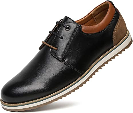 MENS SOFT LEATHER SLIP ON OXFORD FORMAL WORK SHOES BROGUE DETAIL SIZE UK 6-11
