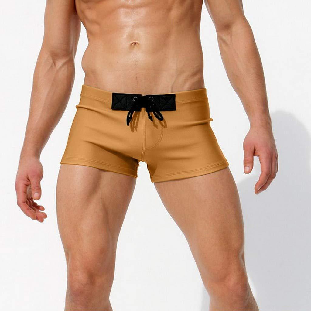 Palarn Sports Pants Casual Cargo Shorts Fashion Men Breathable Trunks Pants Solid Swimwear Beach Shorts Slim Wear