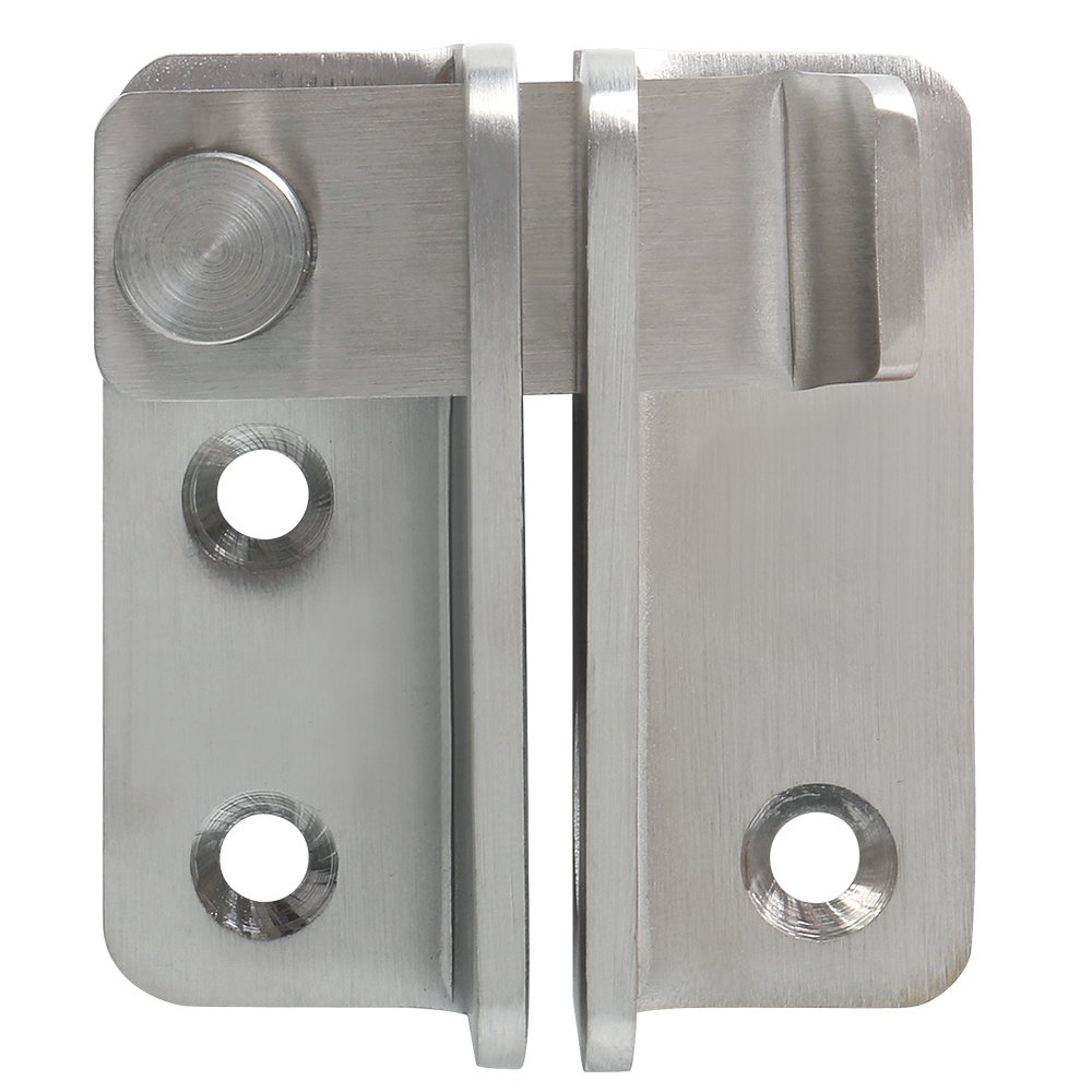 Alise MS3005 Gate Latches Heavy Duty Latch Safety Door Lock,Stainless Steel Brushed Nickel