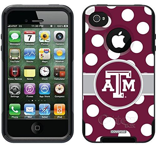大流行中! Coveroo 4 Texas A & M iPhone Polkaドットデザイン電話ケースfor iPhone 4s/ B014ALZ8PG 4 – 小売パッケージ – ブラック B014ALZ8PG, 神棚の山丸:09434859 --- movellplanejado.com.br