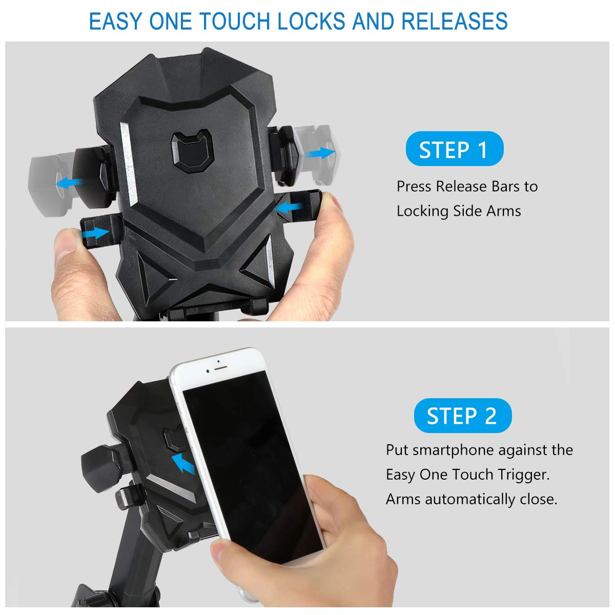 Dashboard /& Windshield Car Mount Phone Holder Compatible iPhone Xs X 8 Plus 7 Plus 6 6s Samsung Galaxy S9 S8 S7 S6 Edge and More SincereFly 4351495853 Long Neck Phone Cradle