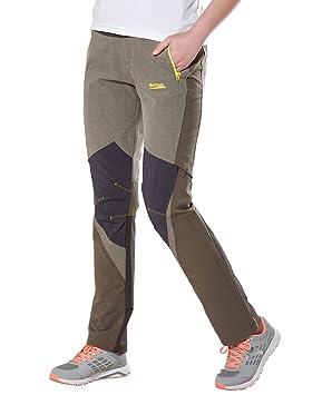 Femme Randonnée Pantalon Kaki Séchage Rapide M131612010 Makino Xs Yy7gb6f