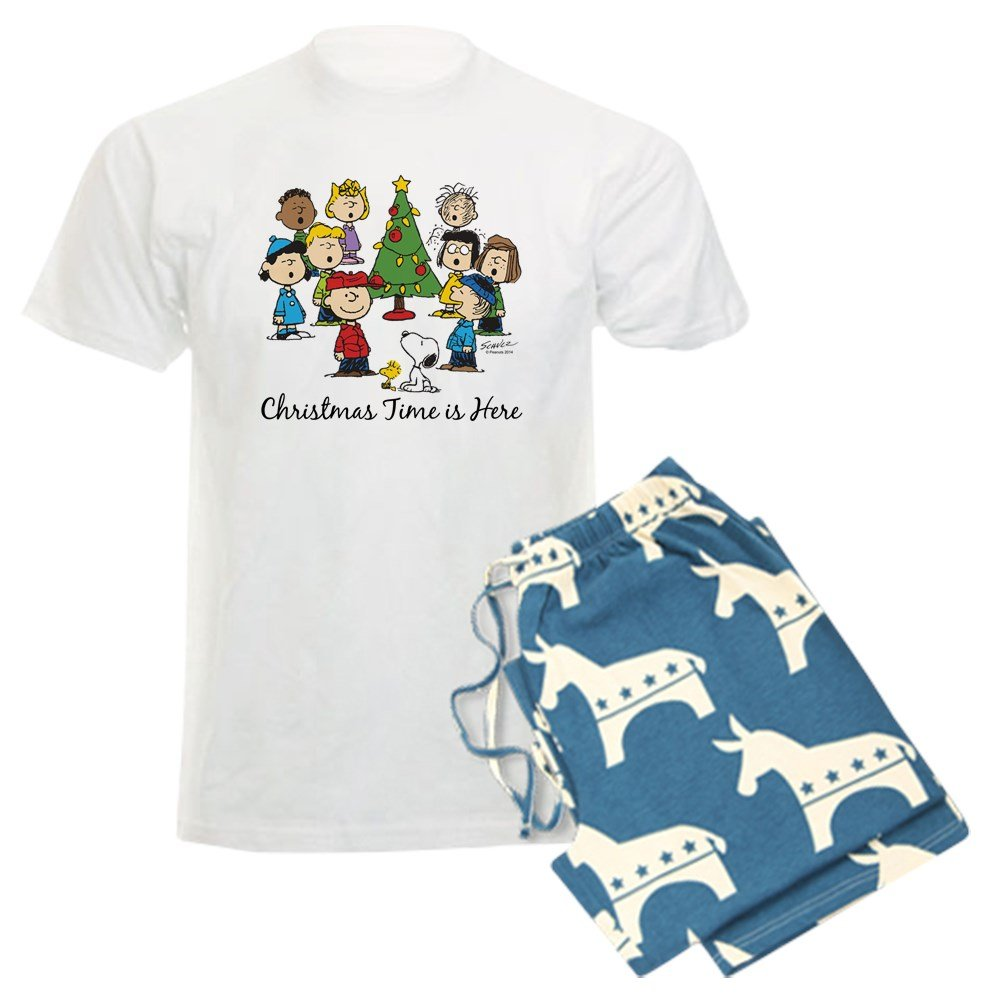 CafePress Peanuts Gang Christmas Pajama Set