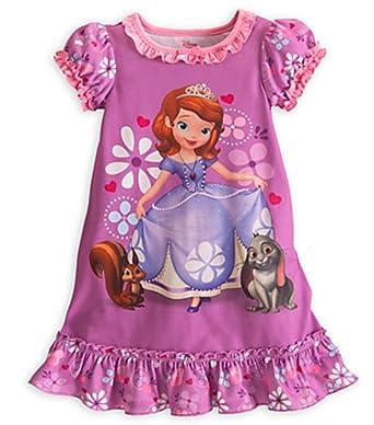 Disney Store Sofia The First Nightgown Nightshirt Sleepwear Large 10