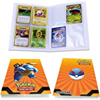 Pokemon Card Holder Binder, Book Best Protection Album Trading Cards GX EX, Can Hold 240 Cards - (New Blastoise)