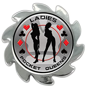 Trademark Global Shadow Spinners Pocket Queens/Ladies Spinner Card Cover