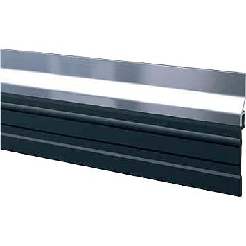 Plinthe Aluminium à Grande Bavette M Bas De Porte De Garage ADS - Bas de porte de garage caoutchouc