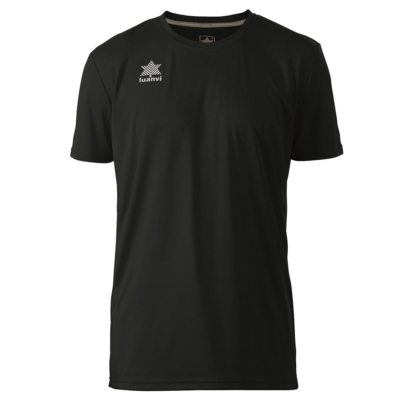 Luanvi Pol Camiseta de Deportes Manga Corta, Hombre: Amazon.es: Deportes y aire libre