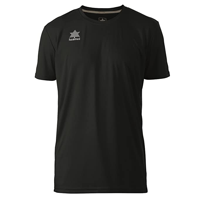 Luanvi Pol Camiseta de Deportes Manga Corta, Hombre