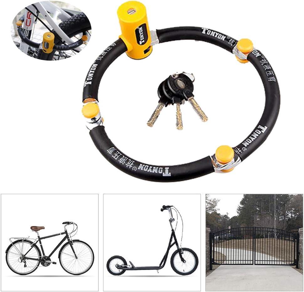 LieYuSport Candados Plegables Candado Bici Candado Bicicleta Alta ...