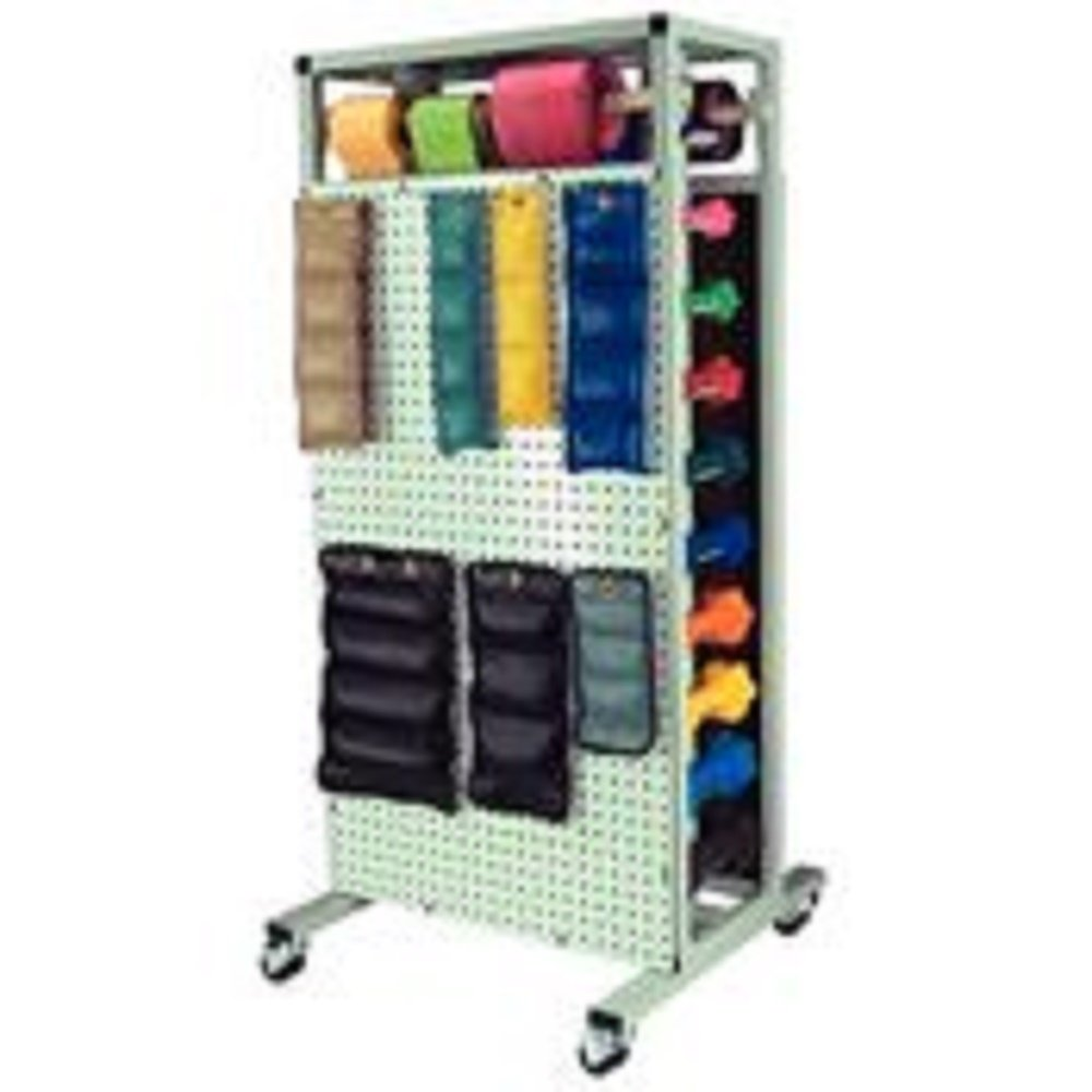 Patterson Medical Cuff Weight & Dumbbell Storage Rack-1 Each