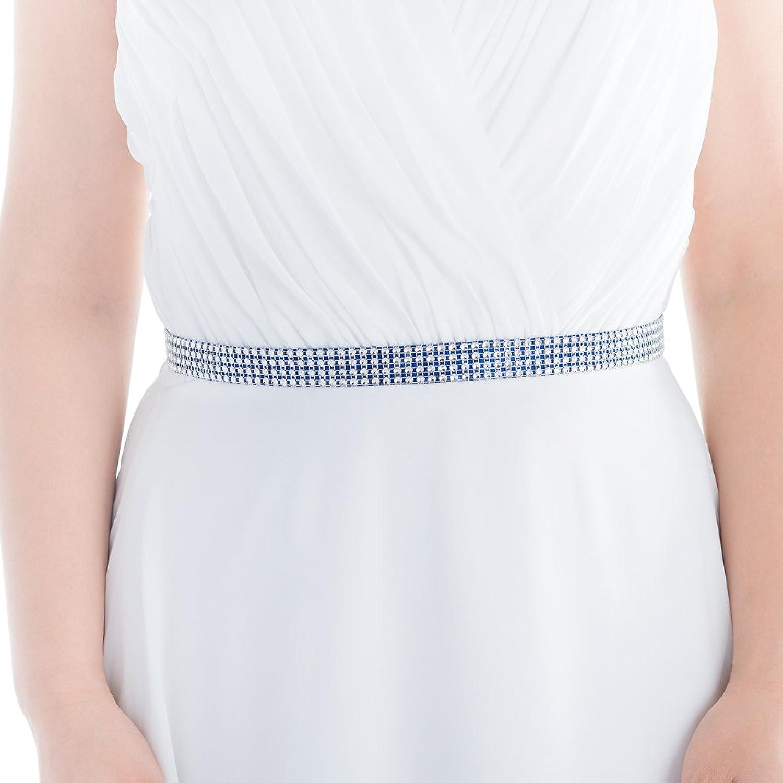 Azaleas Women's Rhinestones Wedding Belts Sash Bridal Sashes Belt for Wedding