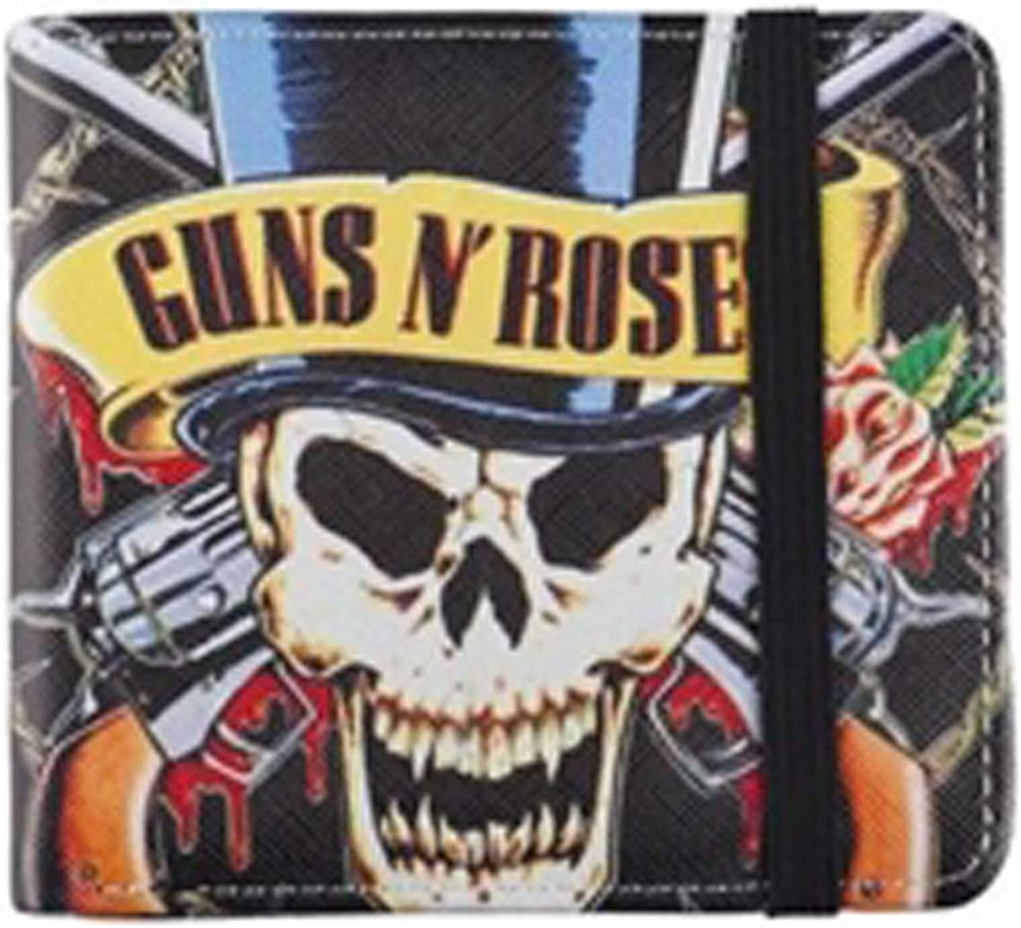 Rocksax Wallet Guns N Roses Skull N Guns