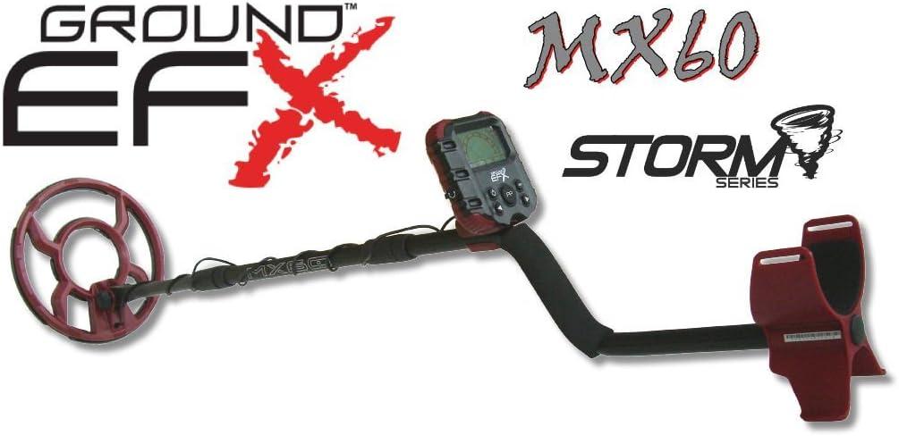 Metal detector Ground EFX Storm MX 60 cercametalli Oro Monedas metaldetector: Amazon.es: Deportes y aire libre