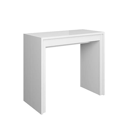 Itamoby Arcoíris 110 cm Consola Extensible, Paneles de nobilitato ...