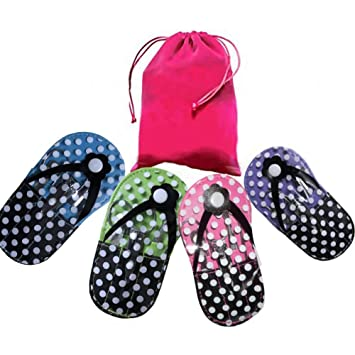 739bbce32cc2b Amazon.com   Polka Dot Flip Flop Design Manicure Kit Shape Manicure (Set  pack of 4)   Beauty