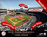 New York Yankees Team Stadium Print - Personlized Officially Licensed MLB Photo Print